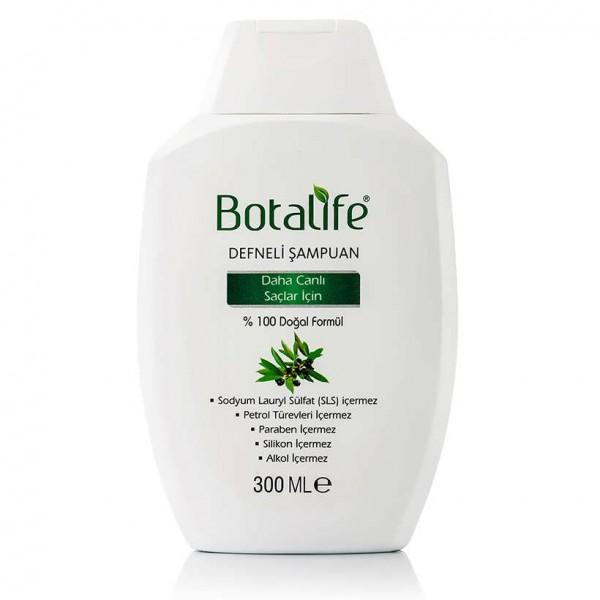 Botalife Defneli Şampuanı 300ml Doğal Defne SLS İçermez