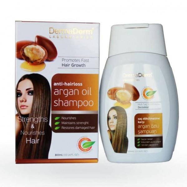Dermaderm Argan Yağı Özlü Şampuan 300ml Saç Dökülmesine Karşı