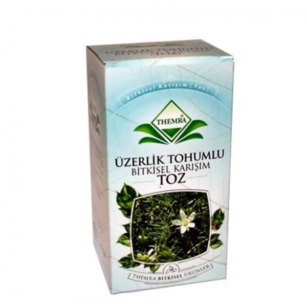 Themra Üzerlik Tohumlu Bitkisel Karışım 250gr Çayı Öğütülmüş Tohumu
