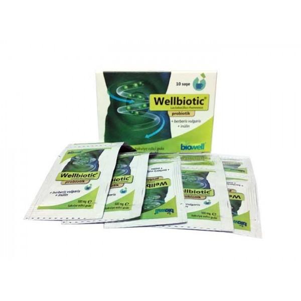 Wellbiotic Probiotik 10 Saşe x 5gr